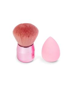 Kabuki Brush + Makeup Sponge