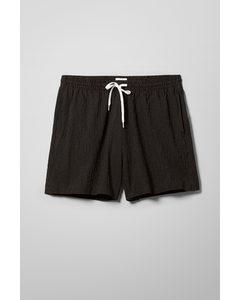 Eide Striped Shorts Black