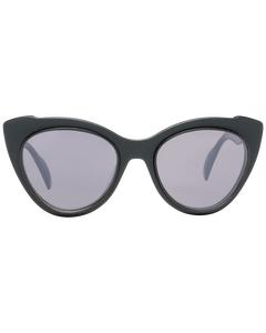 Yohji Yamamoto Mint Women Black Sunglasses Yy7021 52002 52-20-145 Mm