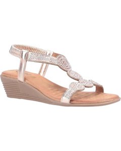 Divaz Womens/ladies Sasha Slip On Sandal