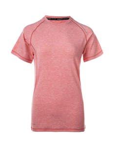 Tearoa W Wool S/s Tee Pitaya Pink