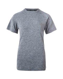 Tearoa W Wool S/s Tee Light Grey Melange