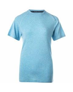 Tearoa W Wool S/s Tee Blue Topaz