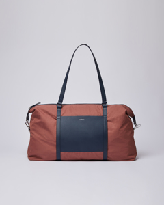 Hellen Maroon With Navy Leather
