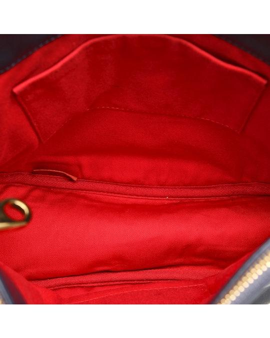 Chloé Chloe Eden Leather Crossbody Bag Blue
