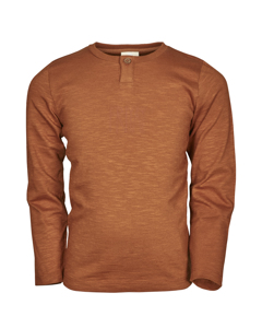 En Fant Ls T-shirt Leather Brown