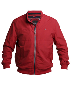 Fleece Lined Barracuda Jacket Red