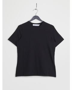 Crew Neck Short Sleeve T-shirt Black