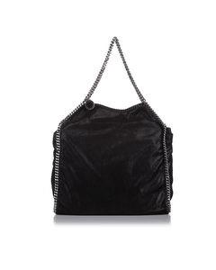 Stella Mccartney Falabella Fold-over Tote Bag Black