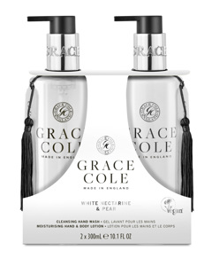 Grace Cole White Nectarine & Pear Hand Care Duo Set