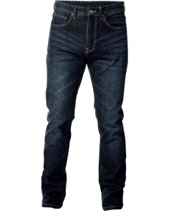 Regular Stretch Jeans Dark Blue