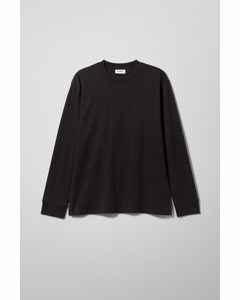Langarm-Shirt Amped Schwarz