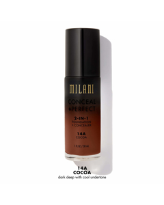 Milani Conceal+perfect Liquid Foundation - 14a Cocoa