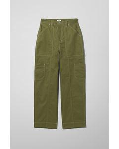 Grow Workwear Trousers Green