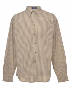 Long Sleeved Gant Checked Shirt