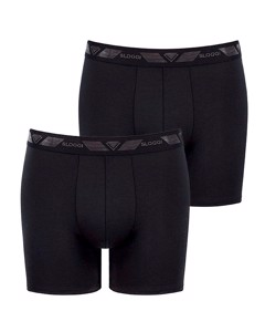 Men Short H 2 Pack Black