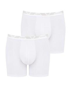 Men Short H 2 Pack White