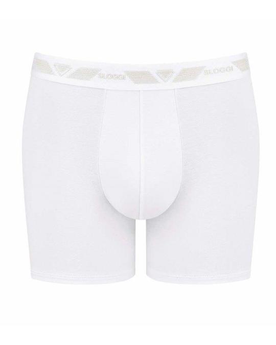 sloggi Men Short H 2 Pack White