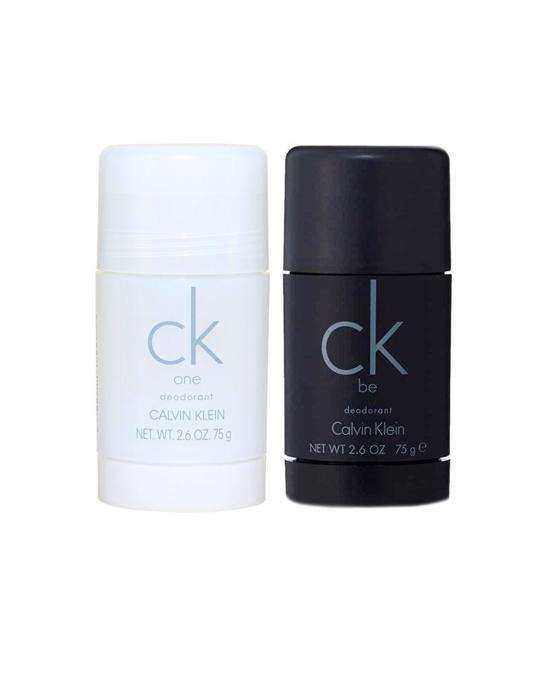 Calvin Klein 2-pack Calvin Klein Ck One + Ck Be Deostick 75ml