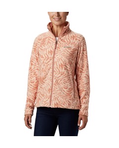Fast Trek™ Light Printed Full Zip Cedar Blush Pri