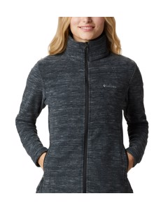Fast Trek™ Light Printed Full Zip Black Spacedye