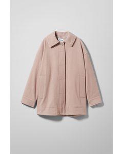 Carli Oversized Jacket Beige