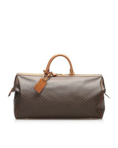Celine Macadam Travel Bag Brown