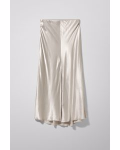 Wave Skirt Silver