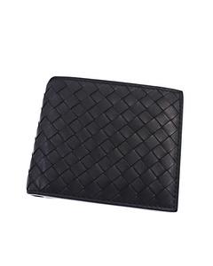 Bottega Veneta Intrecciato Leather Wallet Black