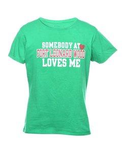 Champion Green Printed T-shirt