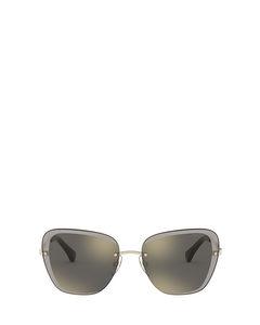 Ra4129 Shiny Pale Gold Zonnenbrillen