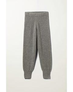 Amba Knitted Joggers Grey