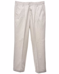 Dockers Ivory Trousers