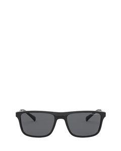 Ea4151 Shiny Black Zonnenbrillen