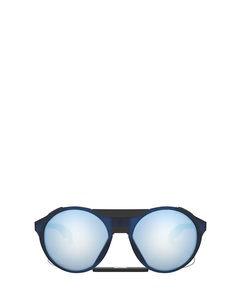 Oo9440 Matte Trans Blue Solglasögon