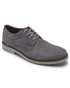 Sr2 Plain Toe Steel Grey Suede