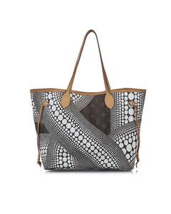 Louis Vuitton Yayoi Kusama Monogram Neverfull Mm Brown