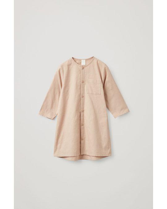 COS Cotton Nightgown Beige