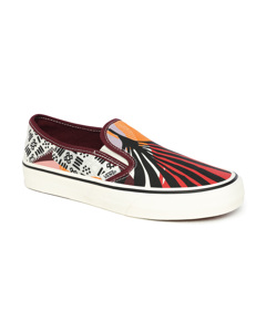 Ua Slip-on Sf W (palm Floral) Port Royale/marshmallow