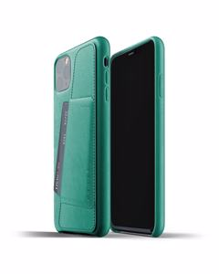 Full Leather Wallet Case For Iphone 11 Pro Max - Alpine Green