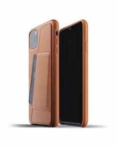 Full Leather Wallet Case For Iphone 11 Pro Max - Tan