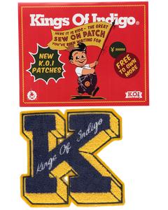 Badge K Navy