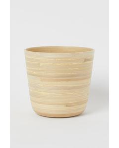 Ytterkruka I Bambu Ljusbeige