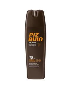 Piz Buin Ultra Light Sun Spray Spf 15 200ml