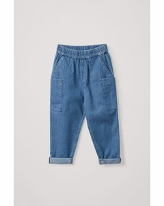 Pull-on Jeans Blue