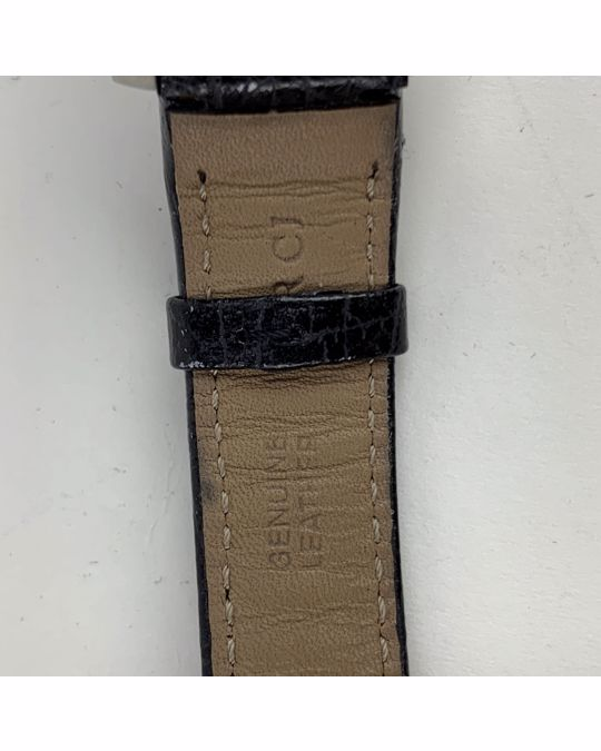 Gucci Gucci Vintage Stainless Steel Wrist Watch 8600 J Leather Strap