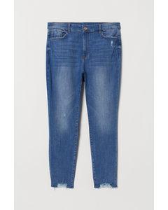 H&m+ Super Skinny High Jeans Denimblauw