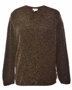 Van Heusen Brown Jumper