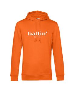 Ballin Est. 2013 Basic Hoodie Orange