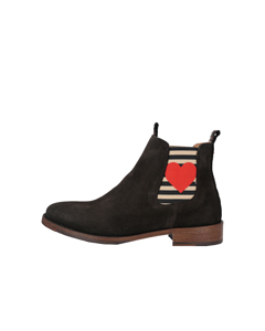 Chelsea Boot Julia With Heart And Stripes